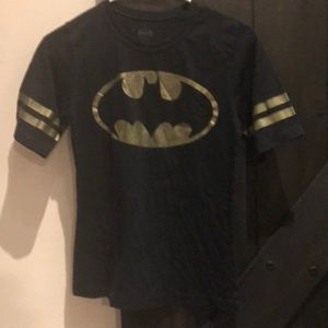 Batman Short Sleeve Tee Shirt Black